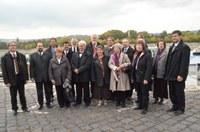 Megérkezett a Vesztfáliai Protestáns Tartományi Egyház delegációja hazánkba – Sétahajózással kezdődött a több napos program