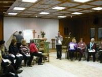 """""""…Ki ismerheti meg az emberek közül azt, ami az emberben van?"""" – Gyülekezeti munkatársképző Piliscsabán 2010 februárjában"""