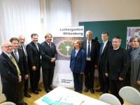Dr. Fabiny Tamás püspök Wittenbergben járt – A Luther-központ Igazgató Tanácsa tartott ülést