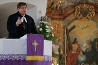 Keken Andrásról tartott előadást a püspök Aszódon