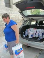Lengyel Anna egyházkerületi felügyelő asszonnyal járt egyházunk Diakóniai Szolgálata Pitvaroson