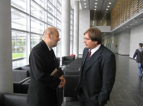 Steinbach József és Fabiny Tamás