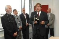 Megáldották a Magyar Televíziót – Dr. Fabiny Tamás a köztévében járt