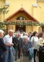 Az ünneplő csabacsüdi gyülekezet