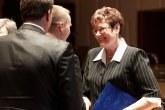 Szabó Jenőné, a Johanneum Evangélikus Diakóniai Központ igazgatója, szociális életműdíjat kapott