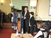 Izrael állam nagykövete volt a vendég a Sztehloban
