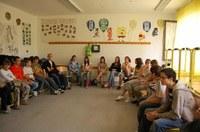 Mennybemenetel ünnepi diákcsendesnapot tartottak a miskolci evangélikus gimnáziumban a KÖSZI önkénteseivel