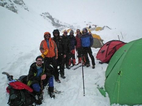 a hegymászók