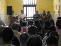 A debreceni börtönben zenélt az Amaro Del