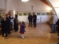 Kovács Emil Lajos kiállítása nyílt meg a dunaújvárosi evangélikus templomban
