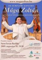 Mága Zoltán jótékonysági hangversenysorozatba kezd