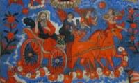 Román ortodox üvegikonok a Kiscelli Múzeumban