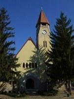 Száz éves a zebegényi templom