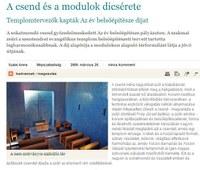 A csend és a modulok dicsérete – Templomtervezők kapták Az év belsőépítésze díjat