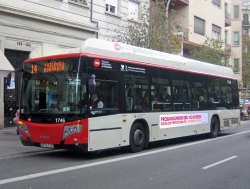 Istentelen katalán buszok
