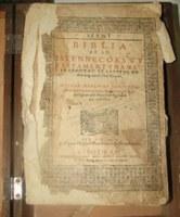 Megtalálták a szeptember végén ellopott Vizsolyi Bibliát