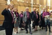 A norvég evangélikus egyházi vezetők köszönetet mondtak a lelki támogatásért
