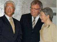 A japán császárnő találkozott a betheli diakóniai város vezetőjéve