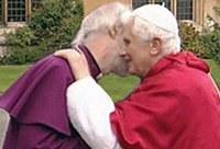 A pápa az anglikán érsekkel találkozott
