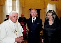A pápa fogadta Károly herceget és Kamilla hercegnőt