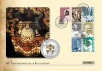 A vatikáni posta új bélyegsorozata