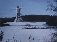 A világ legnagyobb Jézus szobrát akarják Németországban elkészíteni