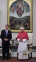 Az ukrán elnök a Vatikánban járt