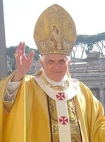 Bárányokat áldott meg a pápa