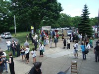 Befejezték a tiltakozást a hívők a clevelandi magyar templomban