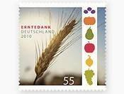 Először jelenik meg Németországban bélyeg az aratási hálaadó ünnepre