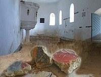 Freskót találtak Sepsiszentkirályon