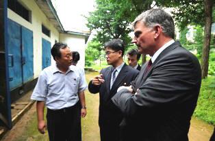 Graham fia Észak-Koreában járt