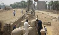 """Kopt templomot és """"nilométert"""" tártak fel Luxorban"""