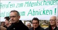 Luzern: hívők tüntettek a Vatikán ellen