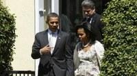 Obama episzkopális templomban ünnepelte a húsvétot