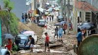Pusztító esőzések Rio de Janeiróban