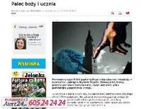 Ujjlenyomatot vesznek a lengyel katolikus templomba járóktól