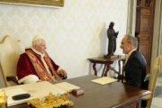 XVI. Benedek fogadta Ausztria új szentszéki nagykövetét