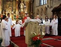 A Szent György templom búcsúját tartották Sopronban