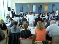 Pannonhalmán megnyílt a látogatóközpont, turistákat és konferenciákat fogadó étterem és borbár