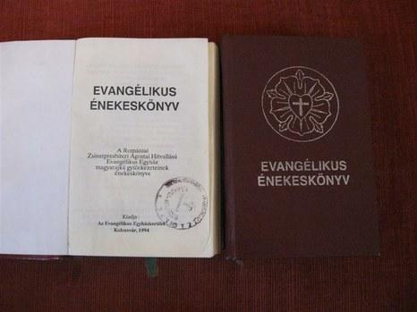 A Romániai Evangélikus-Lutheránus Egyház énekeskönyve