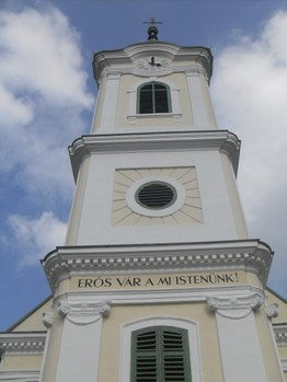 Evangélikus templom, Őrisziget