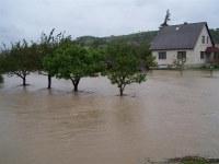 Pusztító árvíz az országban – Bakonycsernyét sem kímélte az özönvízszerű áradás