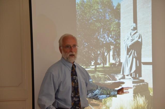 Luther Márton aktualitása – Dr. Richard E. Carter előadása a Reformációi Emlékbizottság ülésén