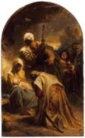 """Oltárképünk kis Jézusa a """"Francia Becsületrend lovagja"""""""