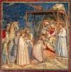 Giotto di Bondone: A mágusok imádása